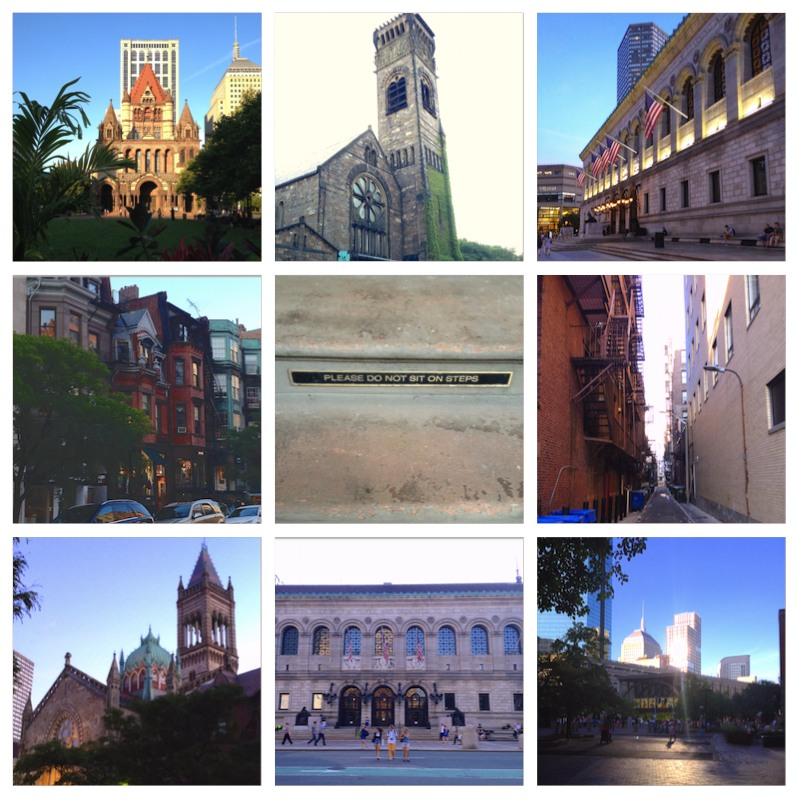 Erste Eindrücke aus Boston