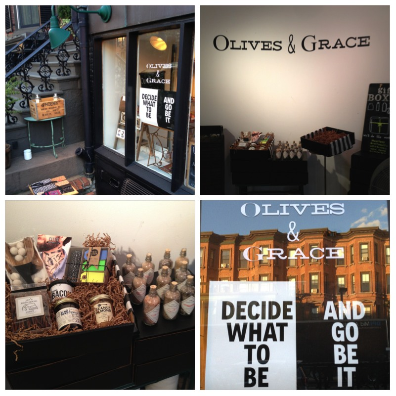 """Olives & Grace"" @ Tremont Street"