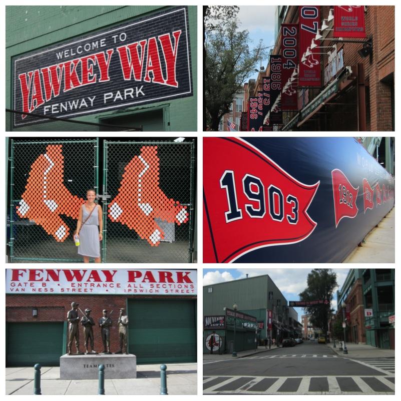 Bostons Fenway Park und seine Red Sox