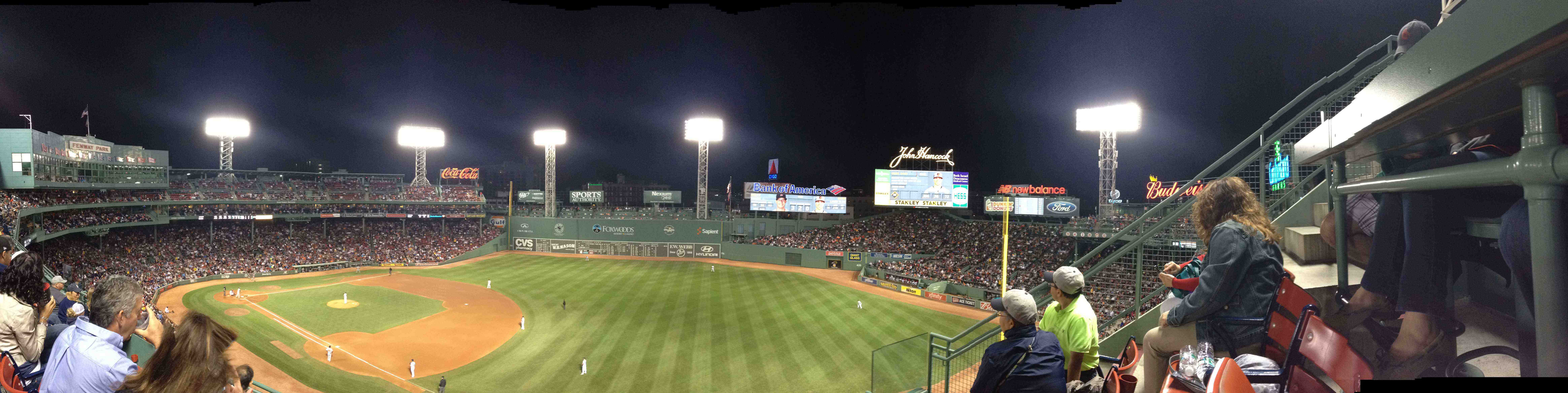 The American Way @ Red Sox Baseball Game