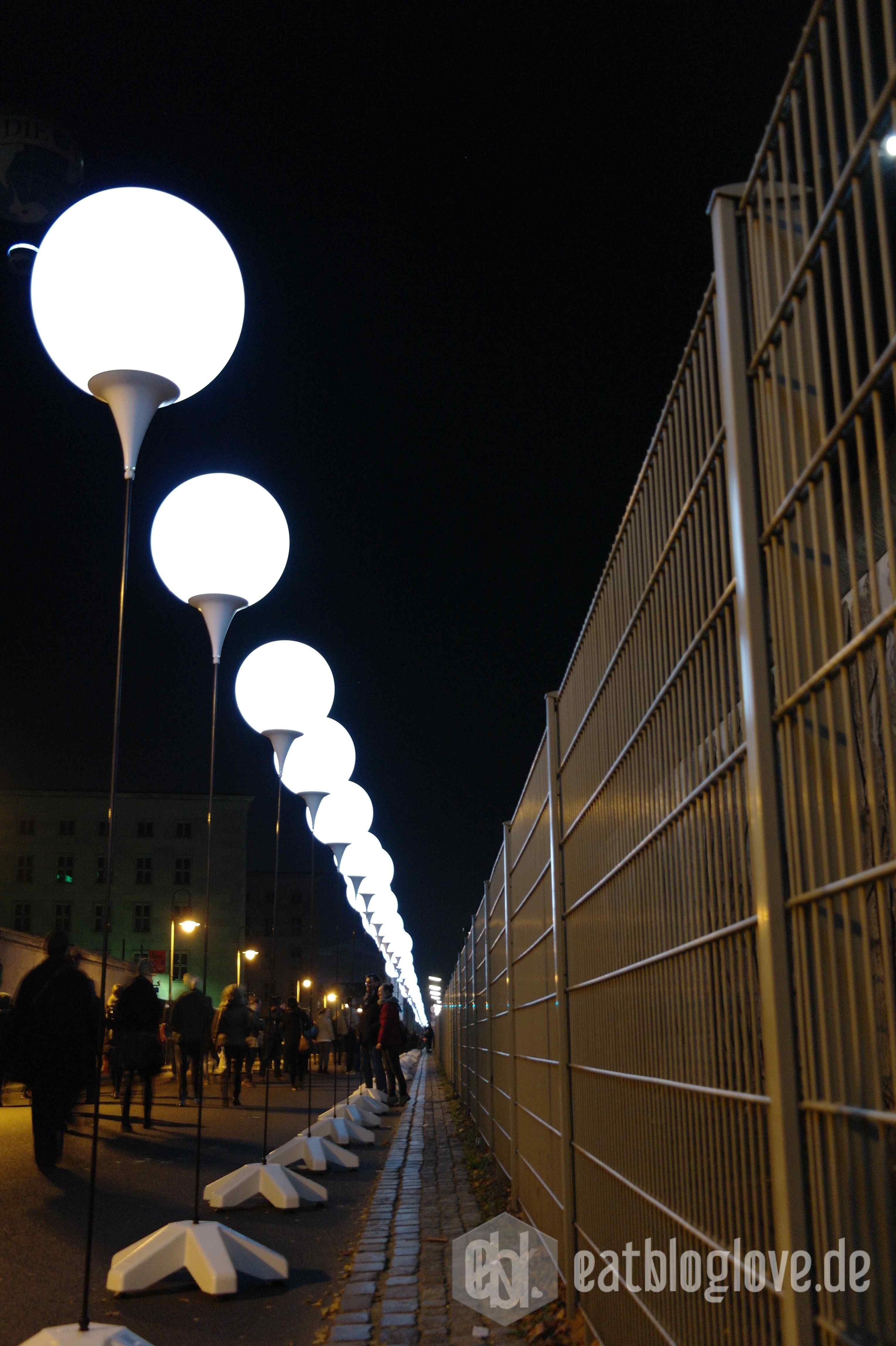 Glücksmomente an der Lichtgrenze - 25 Jahre Mauerfall