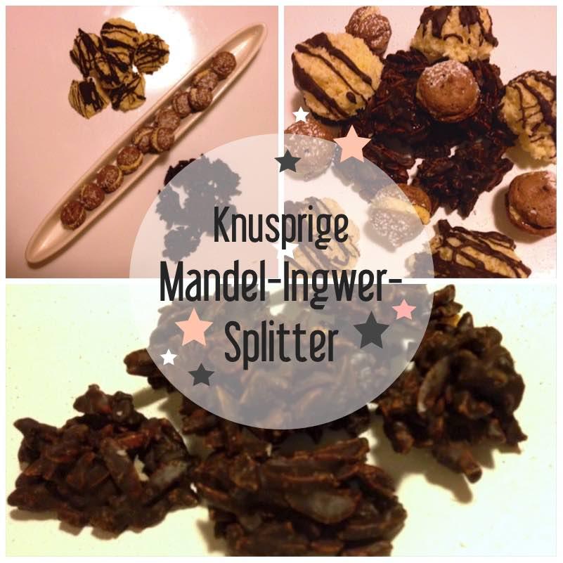 Knusprige Mandel-Ingwer-Splitter
