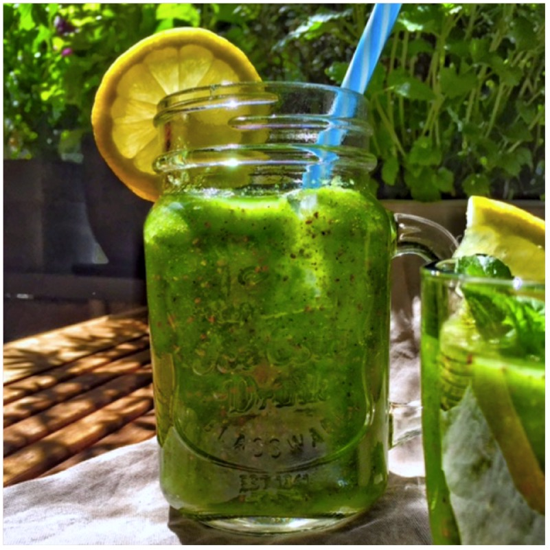 Go Green - Fines grüner Smoothie