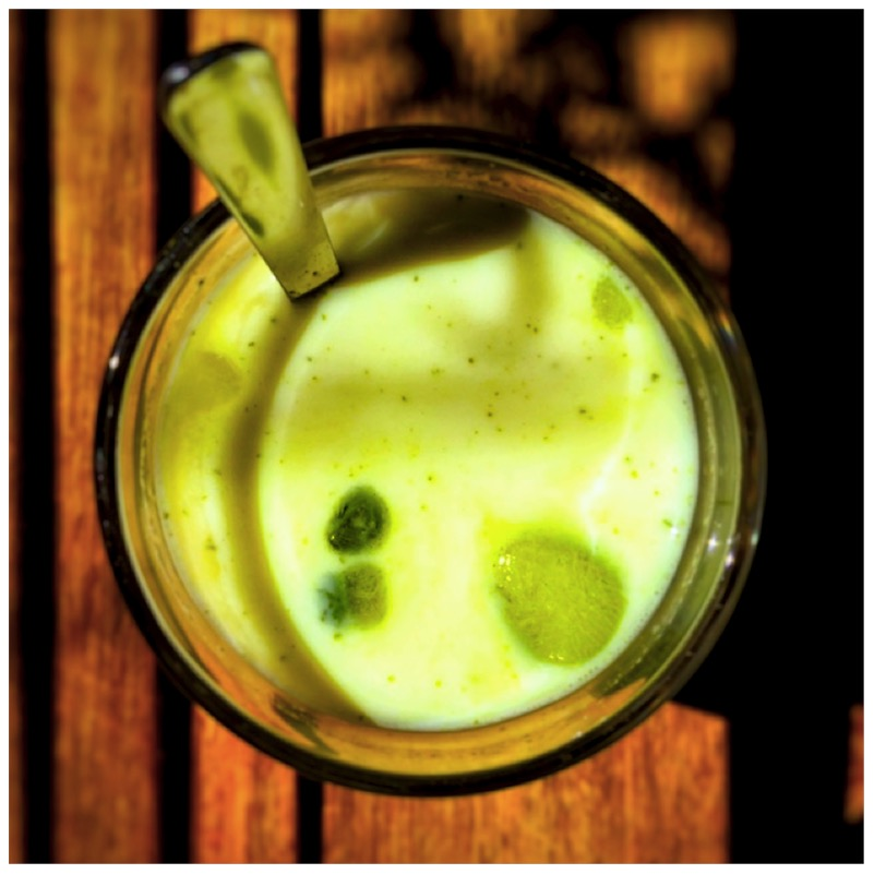 Green Wake Up Call - Iced Matcha Latte