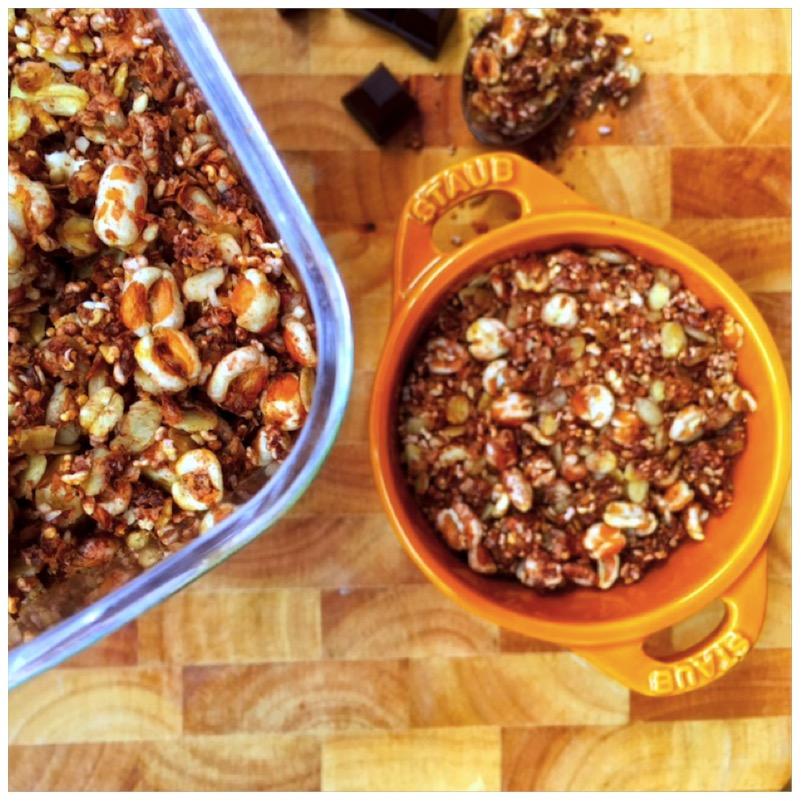 Mr. Chocolate Granola - schokoladiges Knuspermüsli
