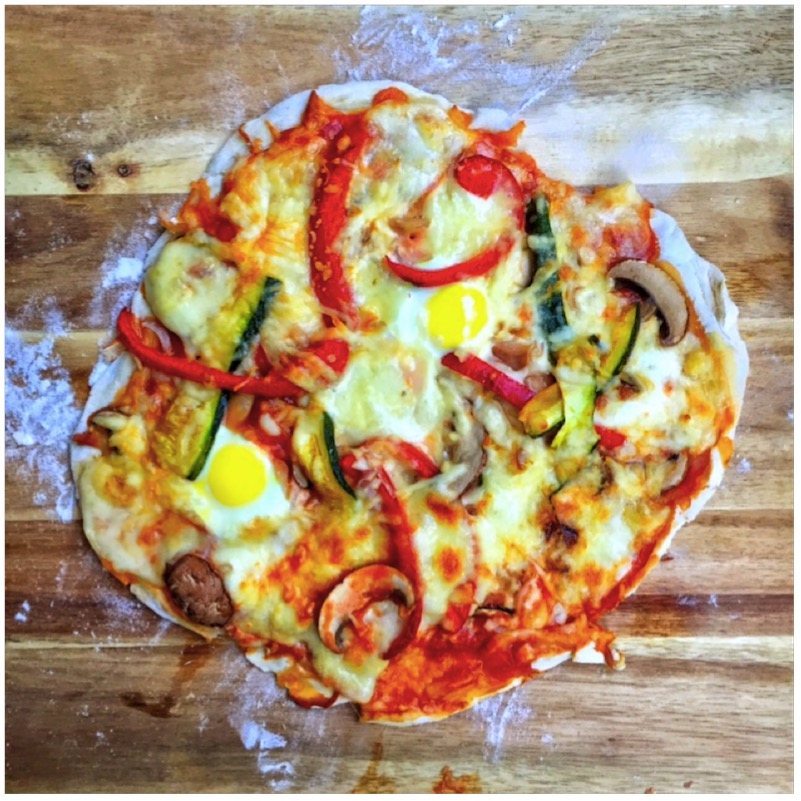 The Italian Way - knusprige Steinofen Pizza