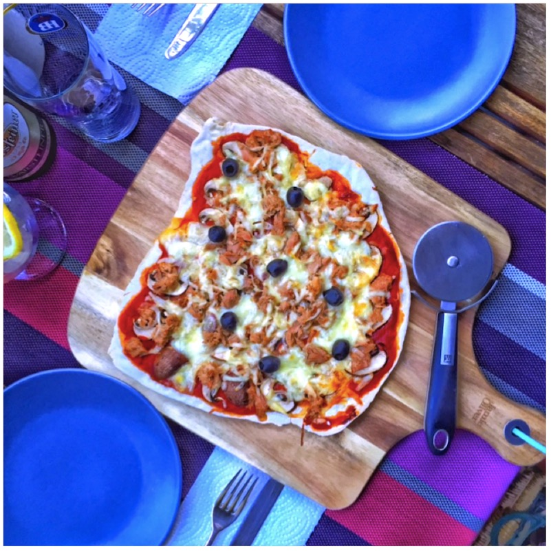 The Italian Way - knusprige Steinofen Pizza
