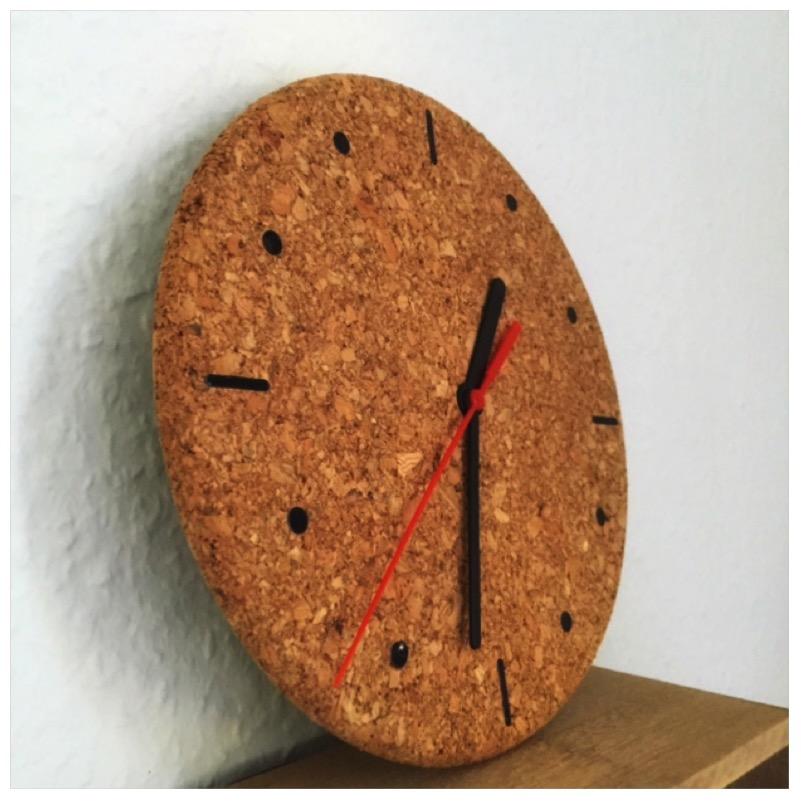 DIY - Uhr aus Kork7
