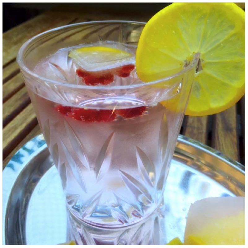 Lillet Fizz Popsicles - Lillet am Stiel und im Glas von eat blog love