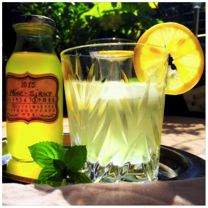 Mint Refreshment - fruktosefreier Minzsirup von eat blog love