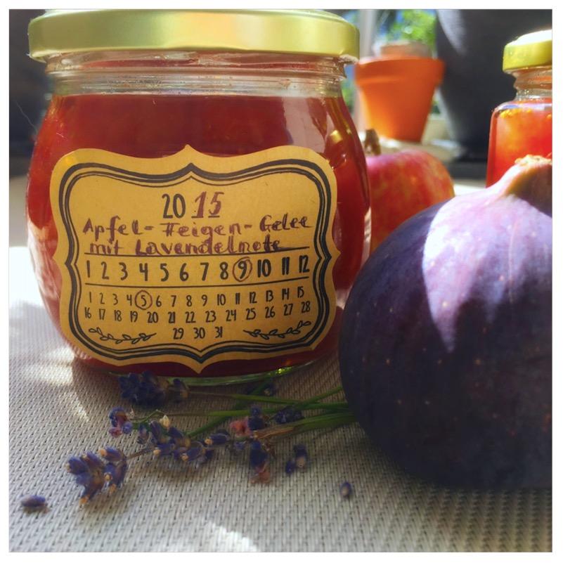 Apfel-Feigengelee mit Lavendelnote1