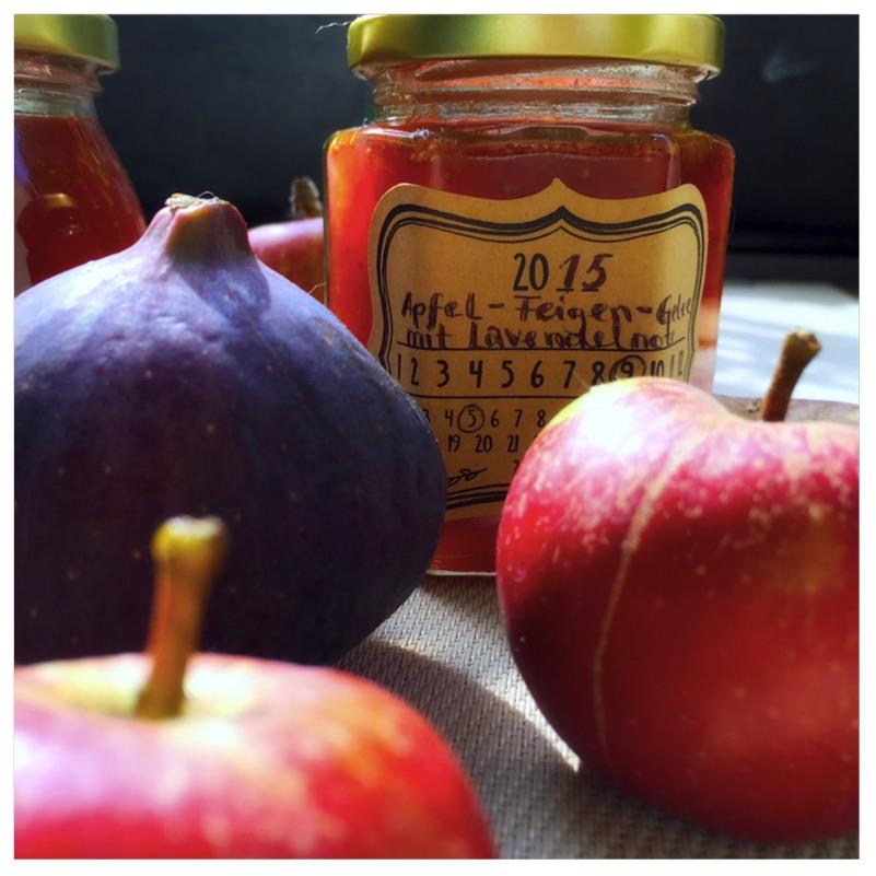 Apfel-Feigengelee mit Lavendelnote3