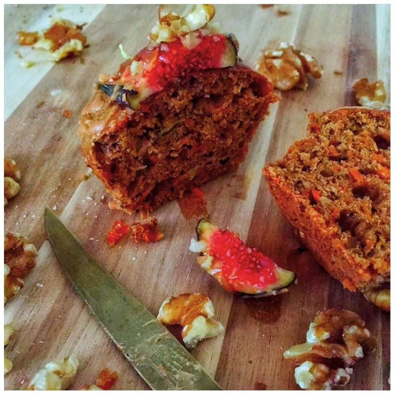 Karotten-Feigen-Muffins mit Walnüssen und Karamell3