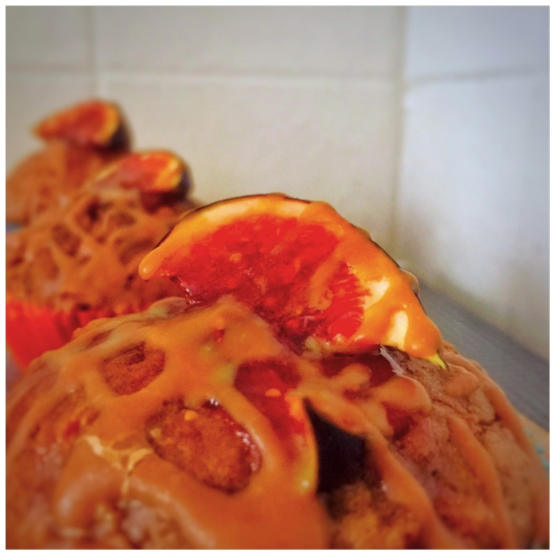 Karotten-Feigen-Muffins mit Walnüssen und Karamell6