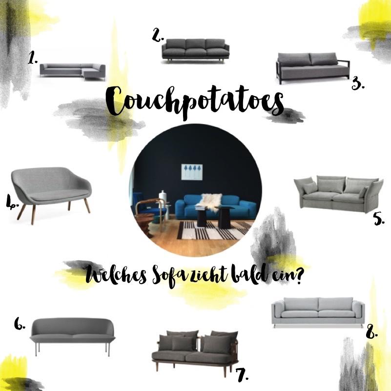 Couchpotatoe - Welches Sofa zieht bald ein?