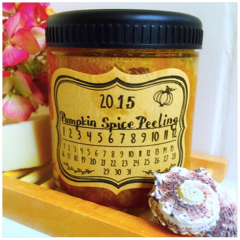 Pumpkin Spice Peeling von eat blog love