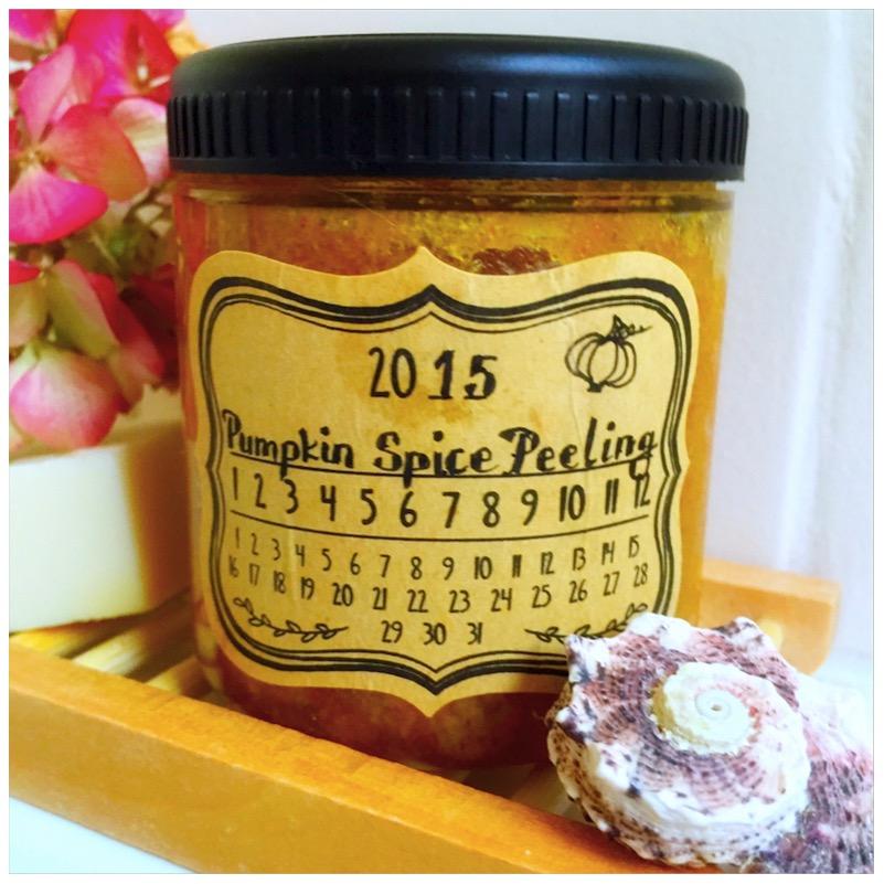 Pumpkin Spice Peeling von eat blog love