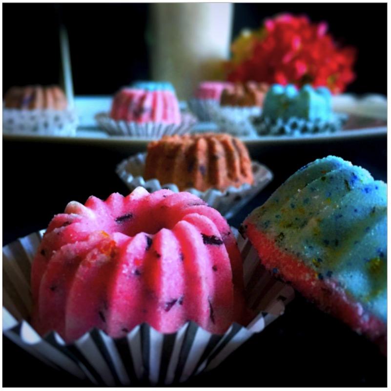 DIY-Geschenkidee - selbst gemachte Badekugeln von eat blog love
