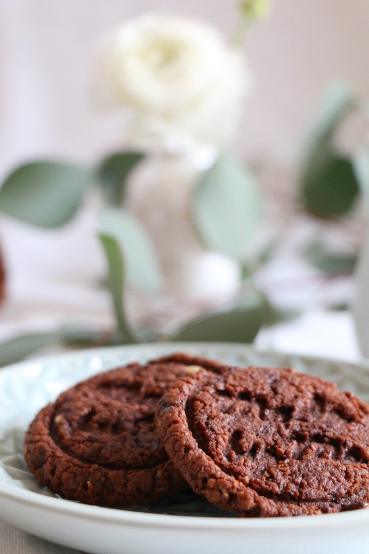 Chocolate-Almond-Liquorice Cookies by eat blog love