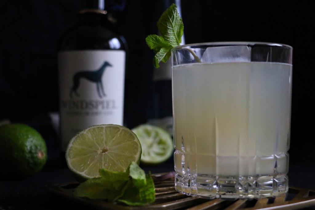 Friedrich der Große mit Windspiel Gin by eat blog love
