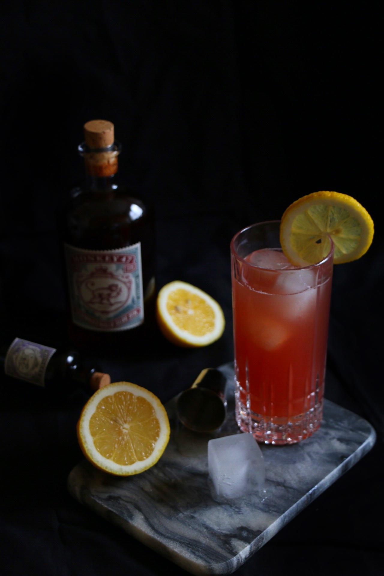 Monkey 47 Sloe Gin Fizz by eat blog love
