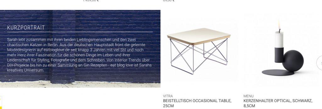eat blog love friday 5 im Schöner Wohnen Shop