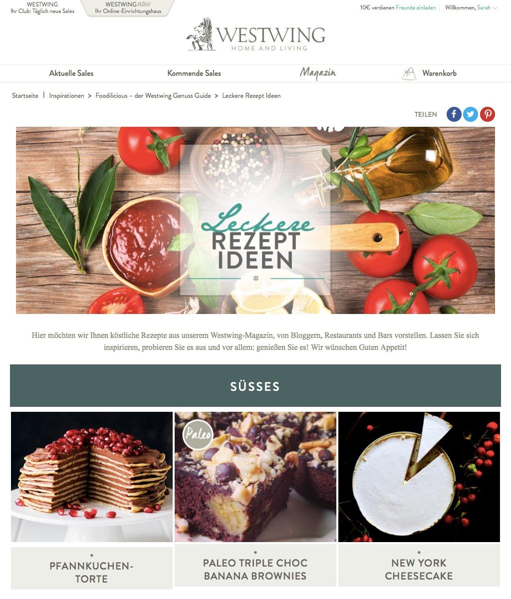 eat blog love im Westwing Genuss Guide