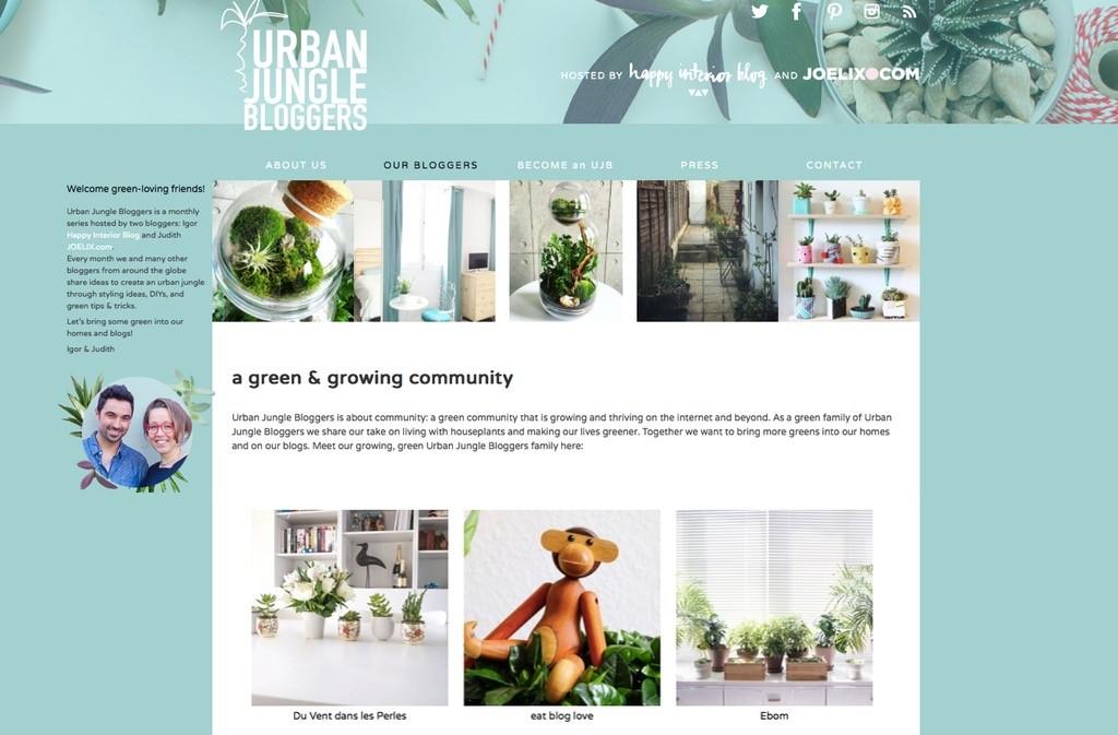 eatbloglove.de auf Urban Jungles Bloggers