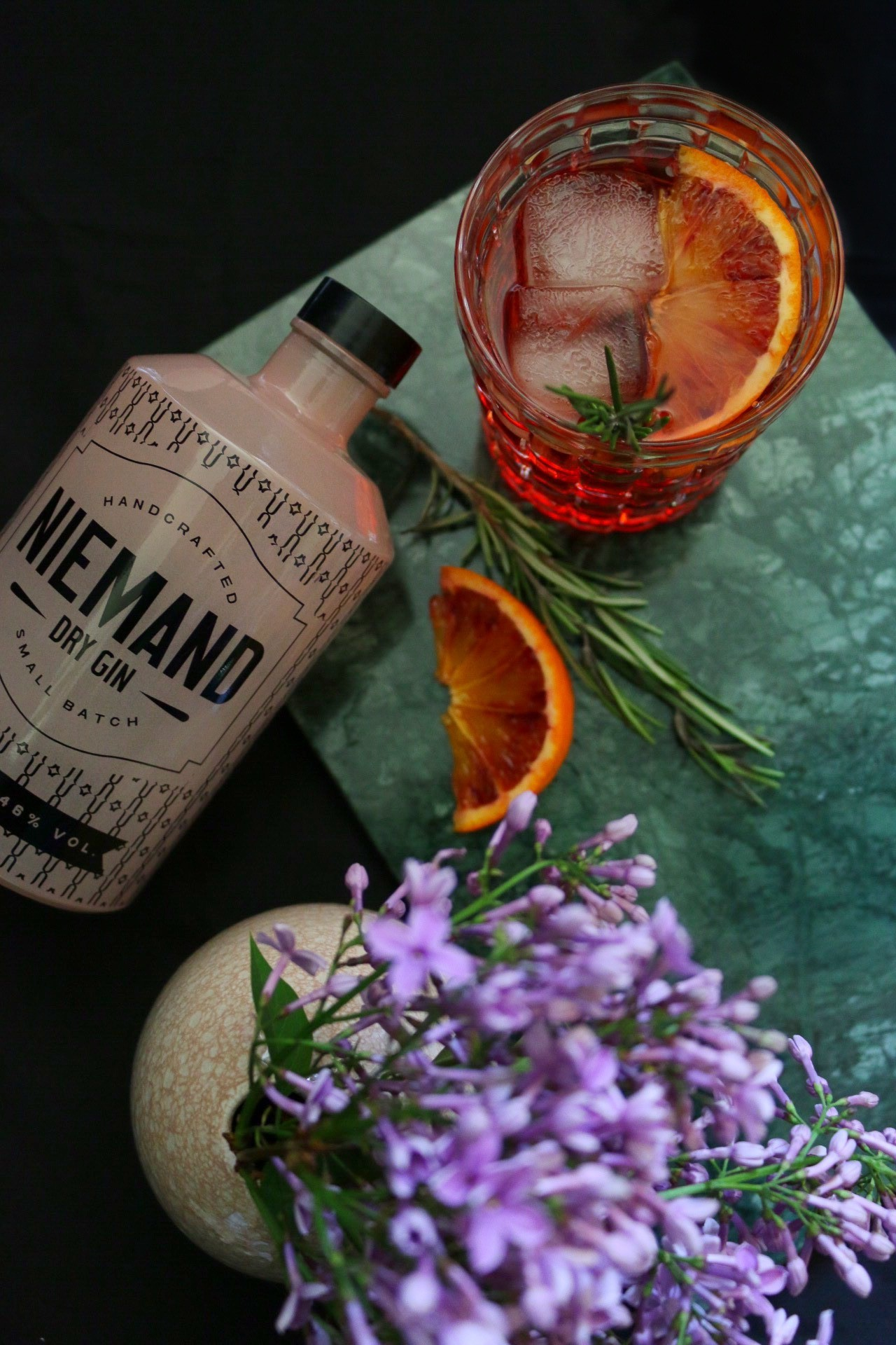 Gin & Bitter - Niemand Gin meets Sanbitter by eat blog love