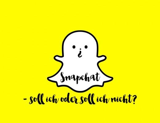 Snapchat - soll ich oder soll ich nicht? by eat blog love