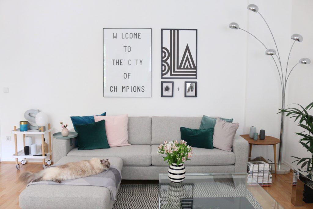 Eine neue Bilderwand in Schwarz und Weiß by eat blog love_10
