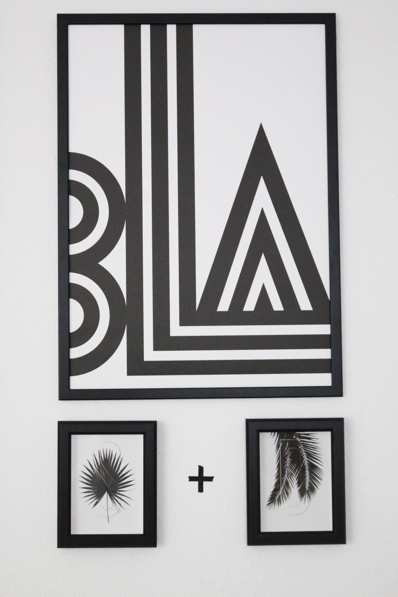 Eine neue Bilderwand in Schwarz und Weiß by eat blog love_12