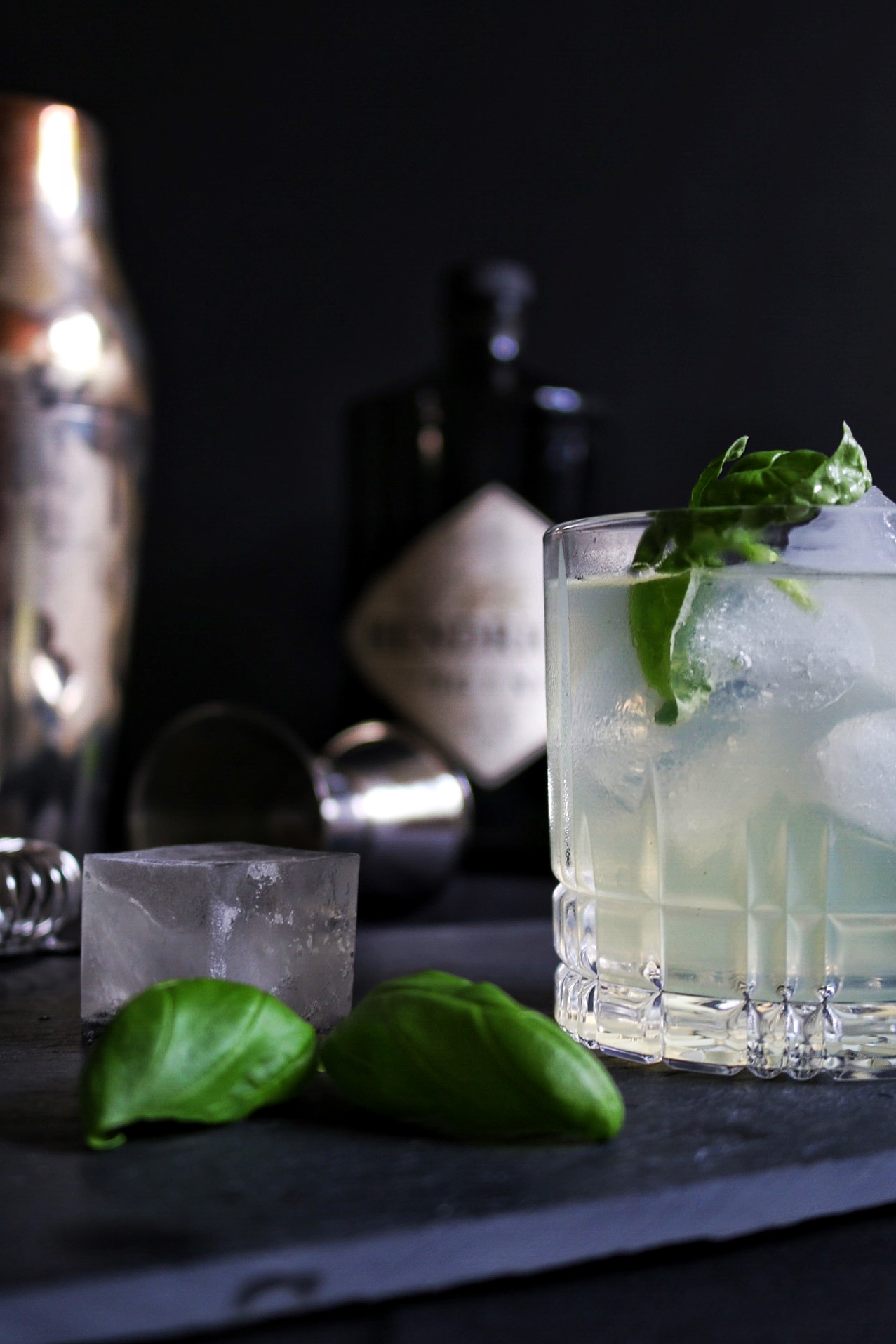 Gin Basil Smash by eat blog love