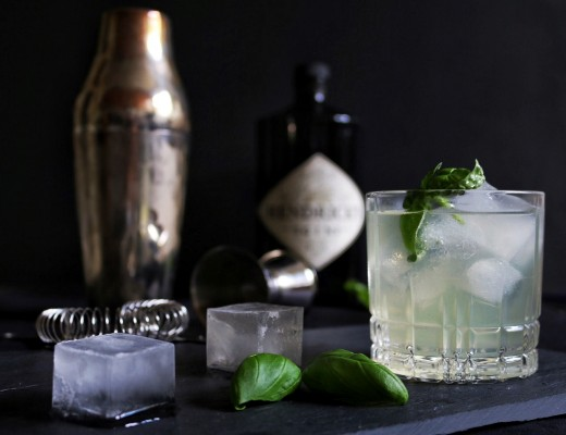Gin Basil Smash by eat blog love_5