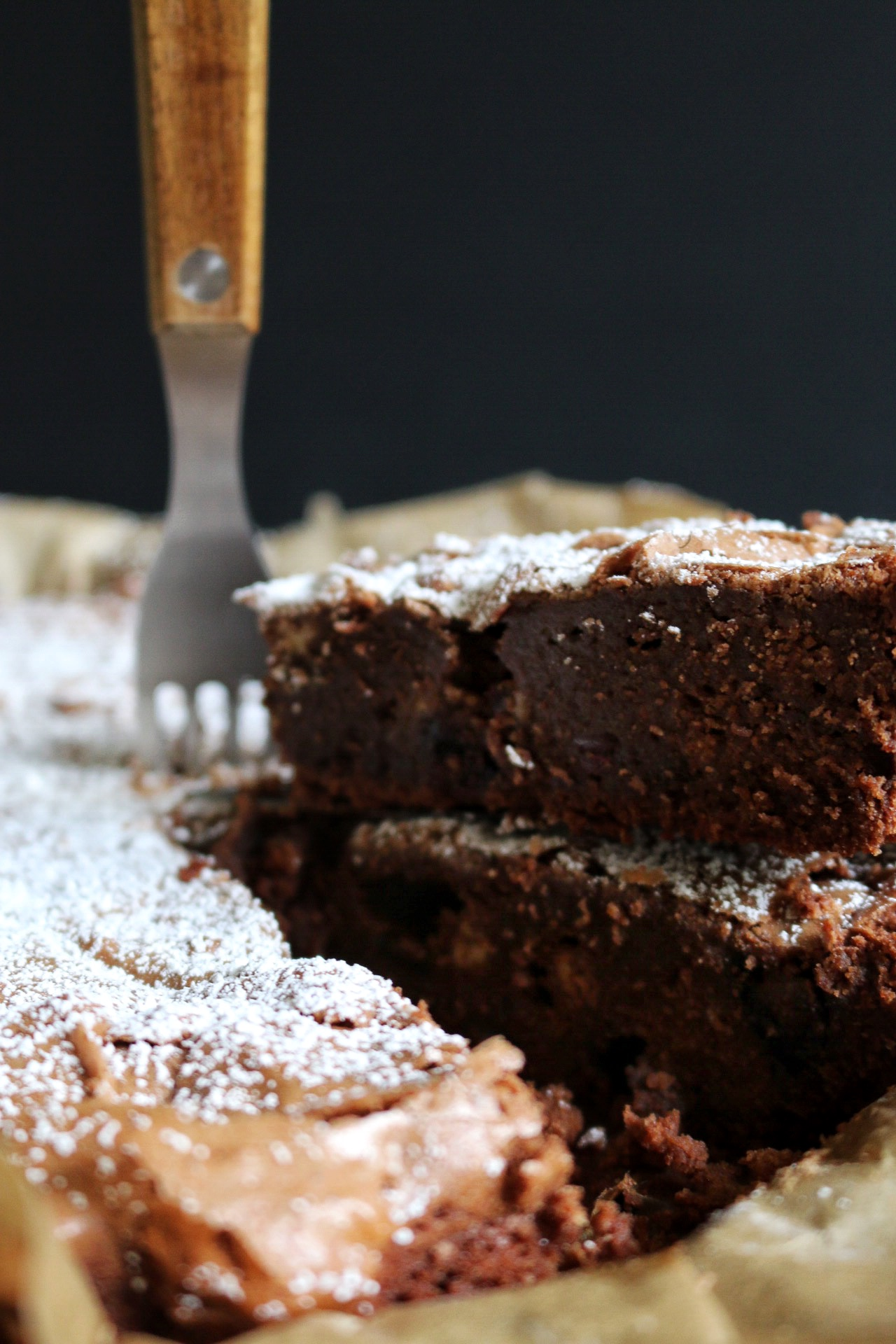Berry Double Chocolate Brownies by eat blog love