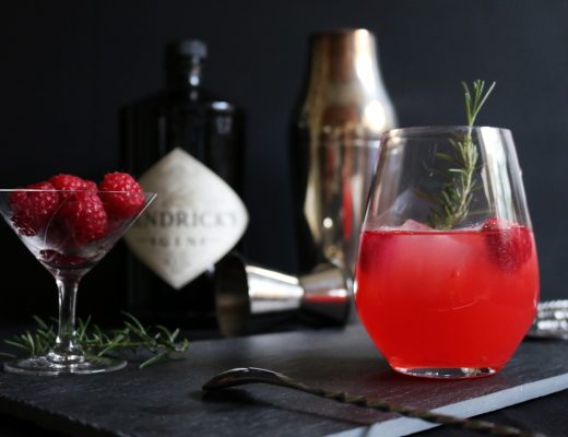 Raspberry Rosemary Smash by eat blog love