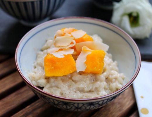 Kokos-Milchreis mit frischer Mango by eat blog love