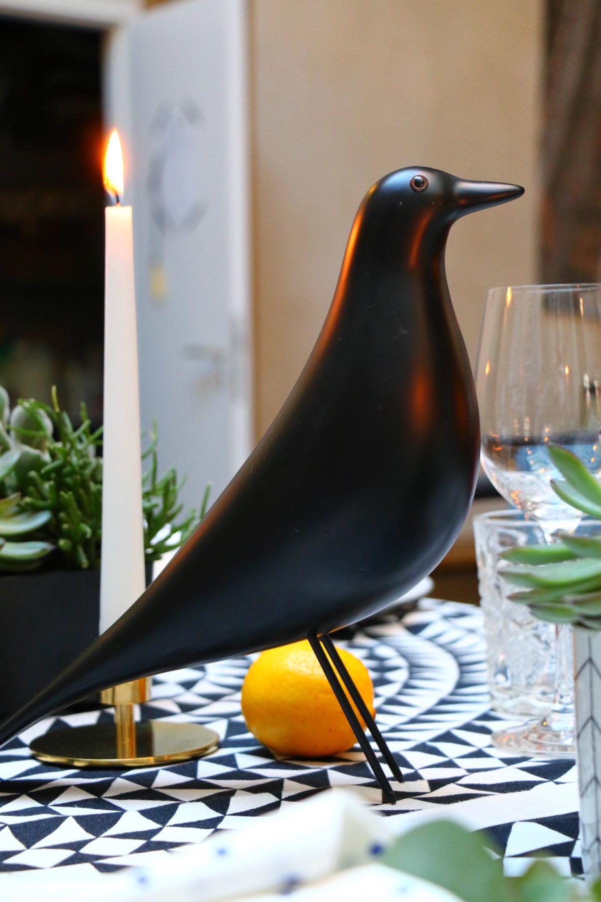 Eames House Bird - Vitra Summer Dinner in Berlin by eat blog love
