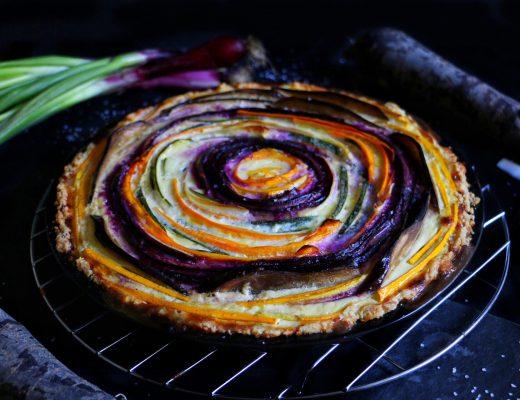 Bunte Gemüsequiche in Spiralform by eat blog love_8