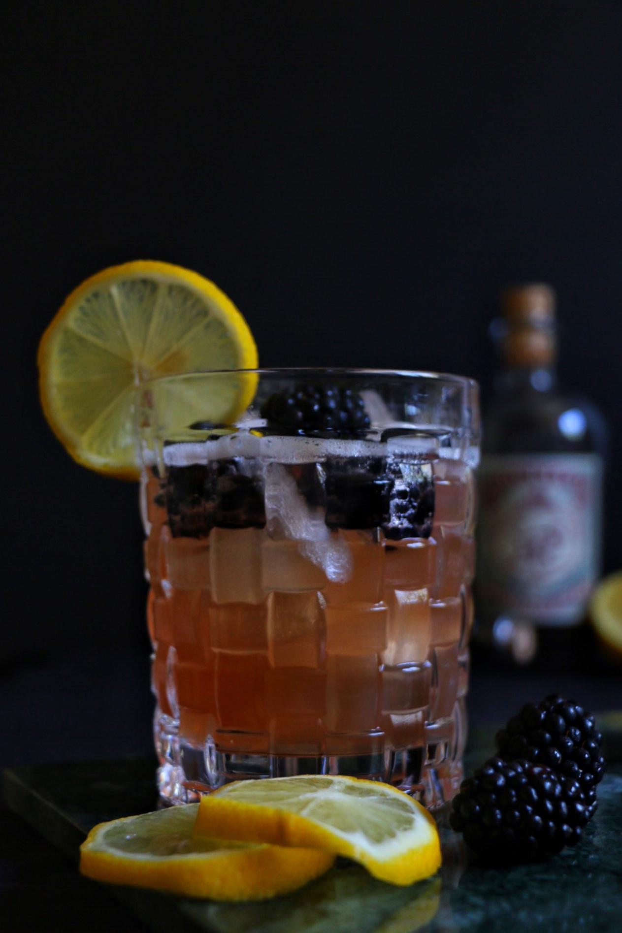 Sloe Gin Bramble by eat blog love
