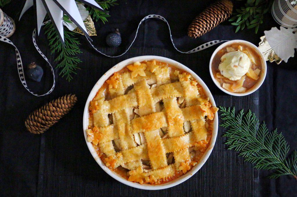 American Apple Pie - Amerikanischer Apfelkuchen by eat blog love