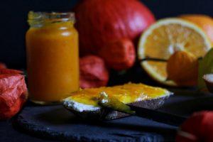 Pumpkin Orange Jam - Kürbis-Orangen-Marmelade by eat blog love