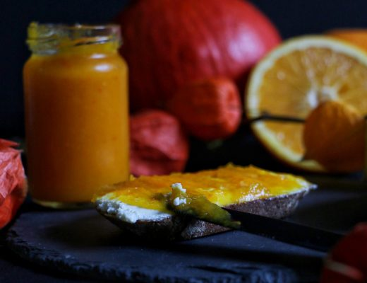 Pumpkin Orange Jam - Kürbis-Orangen-Marmelade by eat blog love