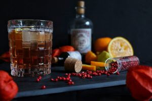 Winter Gin Tonic - Sloe Gin & Tonic by eat blog love