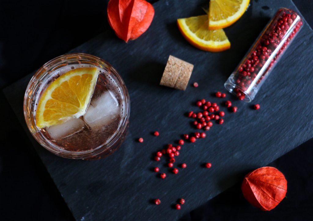 Winter Gin Tonic - Sloe Gin & Tonic by eat blog love