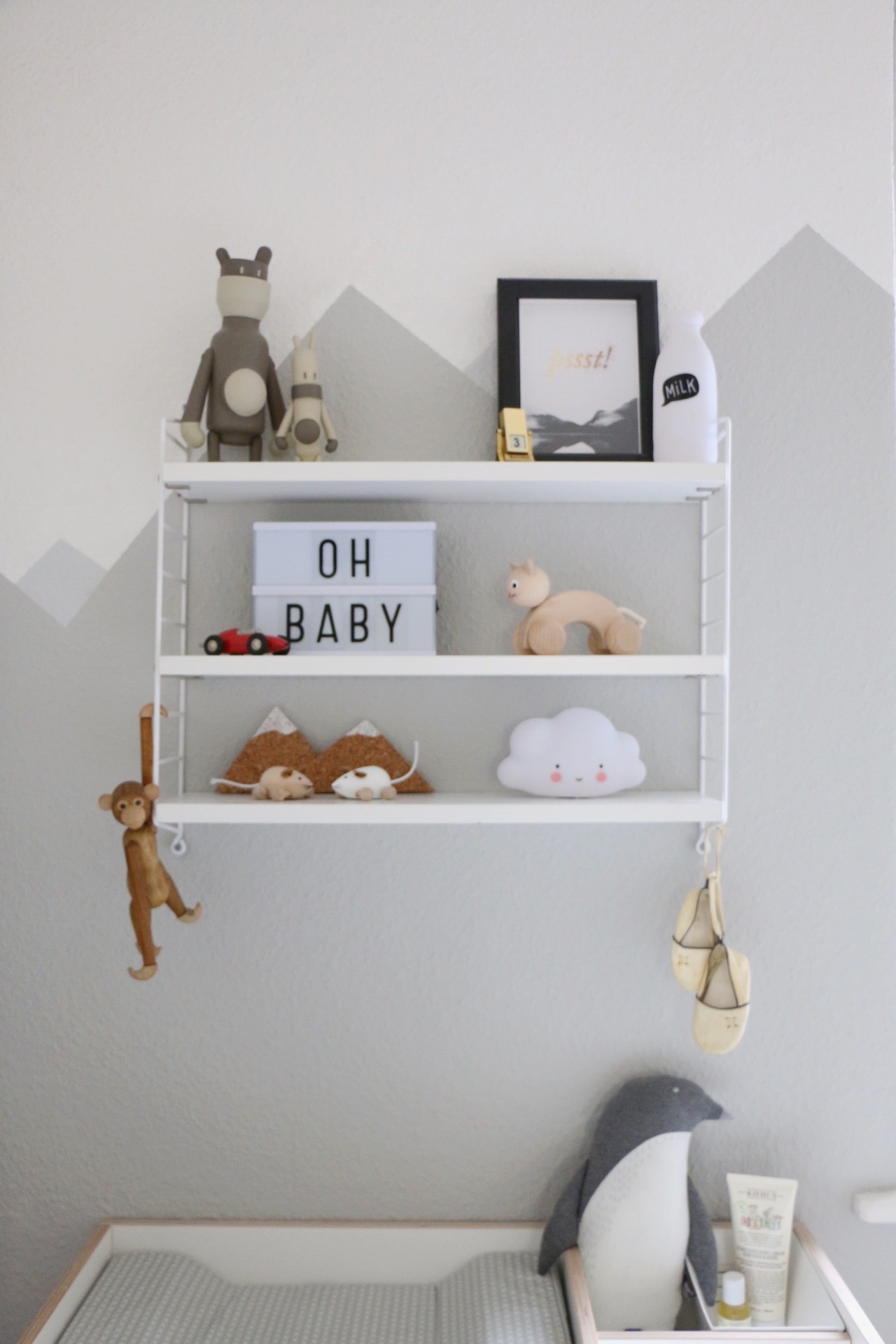 ... Mountain Nursery Wallpaint   Wandgestaltung Im Babyzimmer By Eat Blog  Love ...