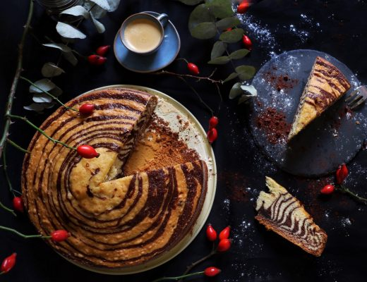 Zebrakuchen - Marmorkuchen im Zebra Look by eat blog love