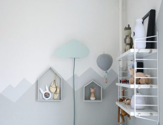 DIY Cloud Lamp - Wolkenleuchte für die Wickelecke by eat blog love