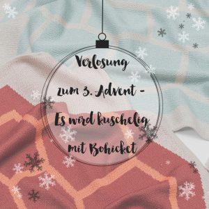 Verlosung zum 3. Advent - Es wird kuschelig mit Bohicket by eat blog love