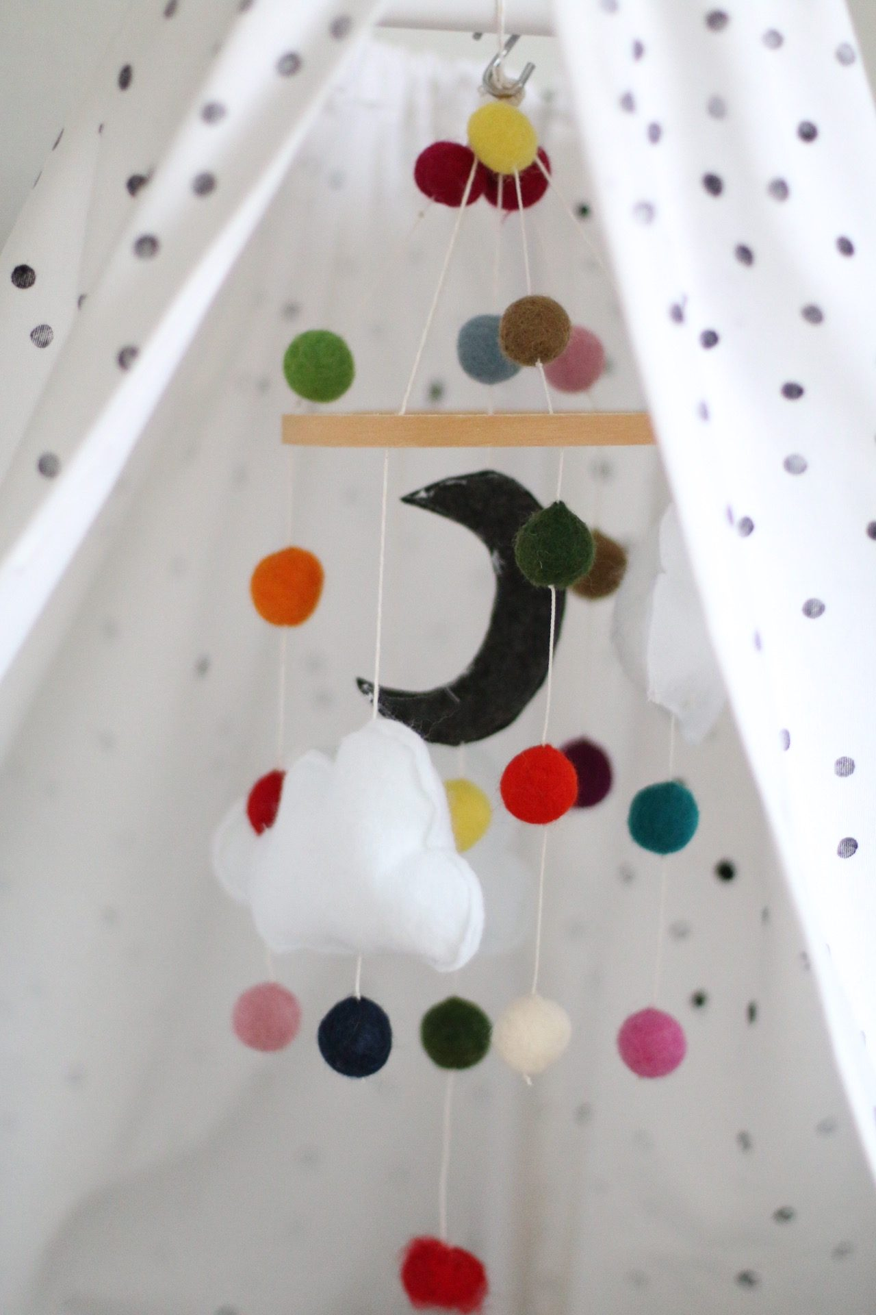 DIY - selbst gemachtes Baby Mobile by eat blog love
